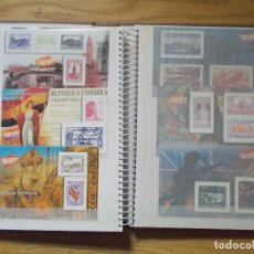 Briefmarken - ALBUM COMPLETO LA GUERRA CIVIL ESPAÑOLA EN SELLOS DE CORREOS 70 HOJAS BLOQUES HB - 83681460