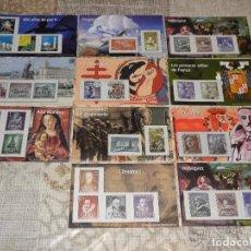 Briefmarken - 11 HOJAS REPRODUCCIÓN DE SELLOS AUTORIZADA POR CORREOS - 87924656
