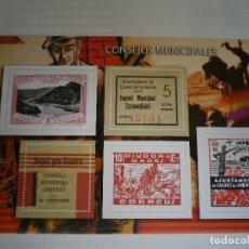 Selos: GUERRA CIVIL ESPAÑOLA EN SELLOS DE CORREOS EL MUNDO. Lote 88347292