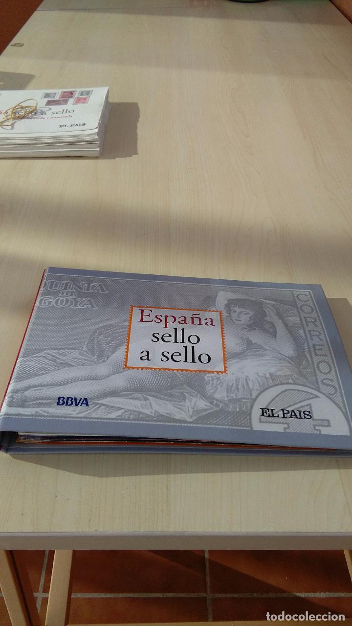 CATÁLOGO ESPAÑA SELLO A SELLO, REPRODUCCIONES DE EL PAIS. (Filatelia - Sellos - Reproducciones)