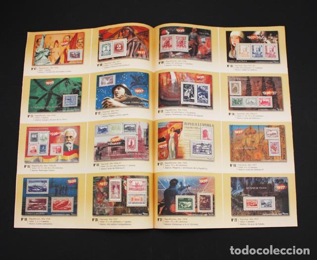 EL MUNDO LA GUERRA CIVIL ESPAÑOLA EN SELLOS DE CORREOS, VER DESCRIPCION E IMAGENES (Filatelia - Sellos - Reproducciones)