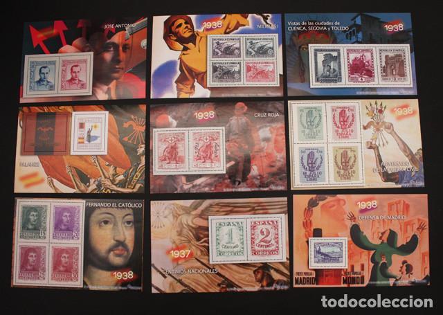 Sellos: EL MUNDO LA GUERRA CIVIL ESPAÑOLA EN SELLOS DE CORREOS, VER DESCRIPCION E IMAGENES - Foto 3 - 94403402