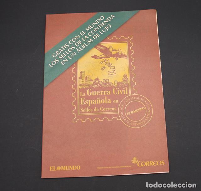 Sellos: EL MUNDO LA GUERRA CIVIL ESPAÑOLA EN SELLOS DE CORREOS, VER DESCRIPCION E IMAGENES - Foto 4 - 94403402