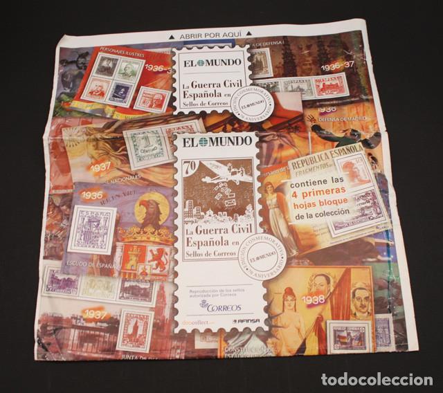 Sellos: EL MUNDO LA GUERRA CIVIL ESPAÑOLA EN SELLOS DE CORREOS, VER DESCRIPCION E IMAGENES - Foto 5 - 94403402