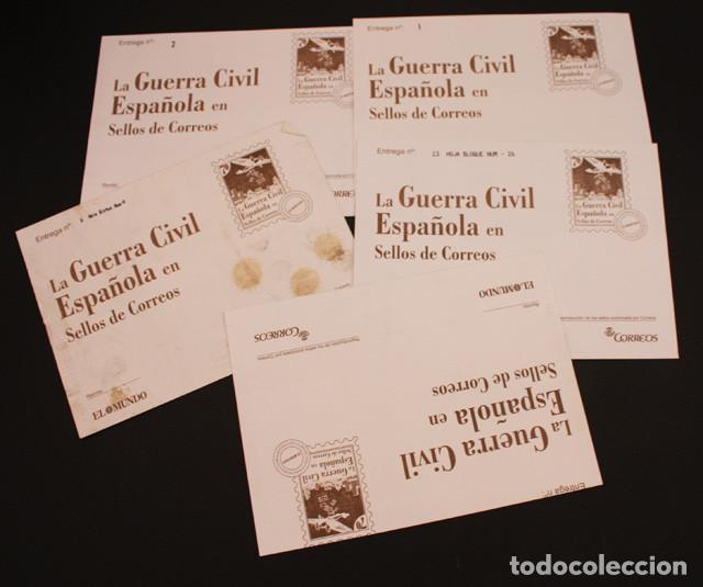 Sellos: EL MUNDO LA GUERRA CIVIL ESPAÑOLA EN SELLOS DE CORREOS, VER DESCRIPCION E IMAGENES - Foto 6 - 94403402