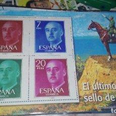 Briefmarken - sellos autorizados correos el ultimo sello de franco - 108695323