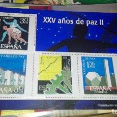 Sellos: SELLOS AUTORIZADOS CORREOS XXV AÑOS DE LA PAZ II. Lote 108695651