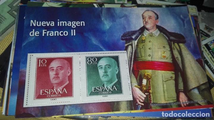 SELLOS AUTORIZADOS CORREOS NUEVA IMAGEN DE FRANCO II (Filatelia - Sellos - Reproducciones)