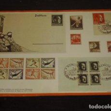 Sellos: LÁMINA SELLOS OLIMPIADAS DE BERLIN (1936). Lote 110222359