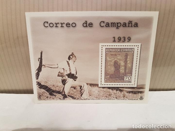 LA ESPAÑA CONTEMPORANEA EN SELLOS DE CORREOS EDICION COLECCIONISTA EL MUNDO ENTREGA N 36 (Filatelia - Sellos - Reproducciones)