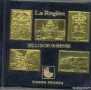 Sellos: CINCO SELLOS DE OURENSE EN METAL - UNION FENOSA. Lote 118096971