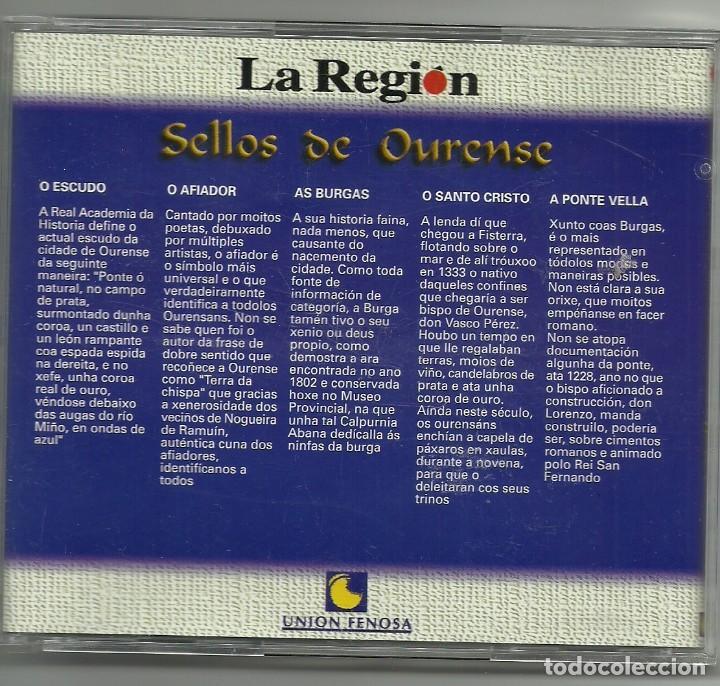 Sellos: CINCO SELLOS DE OURENSE EN METAL - UNION FENOSA - Foto 2 - 118097783