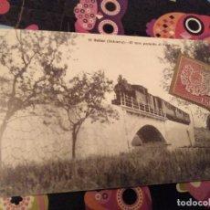 Briefmarken - POSTAL FACCIMIL SOLLER TREN PONT GROS MALLORCA Y SELLO METALICO ORFEBRERIA ESPAÑOLA 50 PTAS - 119302031