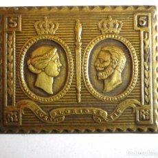 Briefmarken - Placa reproducción sello en latón - 120107583