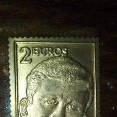 Sellos: SELLO 2 EUROS LATON DORADO. Lote 120745999