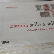 Sellos: ESPAÑA SELLO A SELLO - EL PAIS - BBVA - . Lote 125211875
