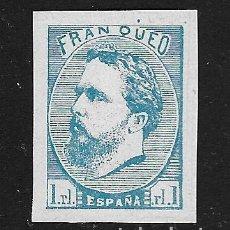 Francobolli: ESPAÑA - FALSO. EDIFIL Nº 156F NUEVO. Lote 128528595