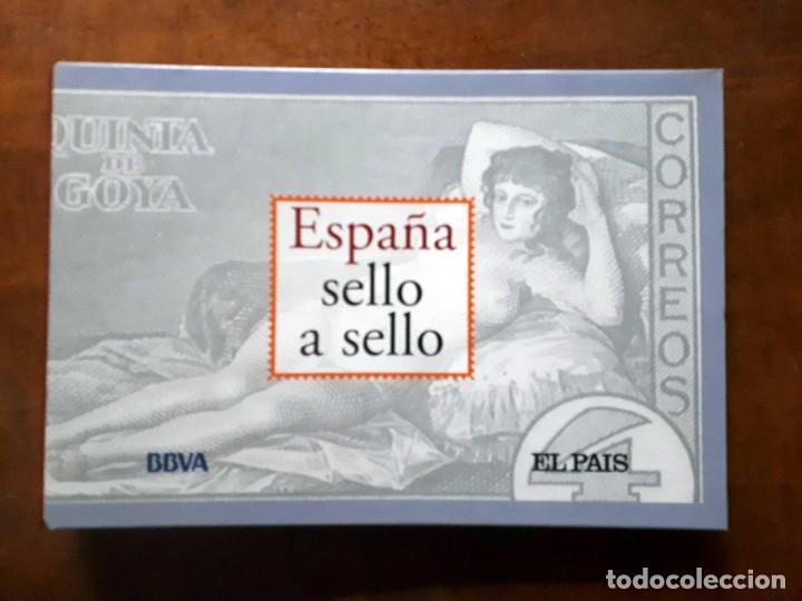 ESPAÑA SELLO A SELLO- COLECCIÓN COMPLETA LIMITADA EL PAÍS- FACSÍMIL (Filatelia - Sellos - Reproducciones)
