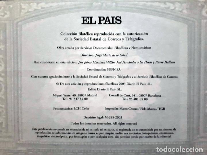 Sellos: España sello a sello- Colección completa limitada El País- Facsímil - Foto 3 - 133459450