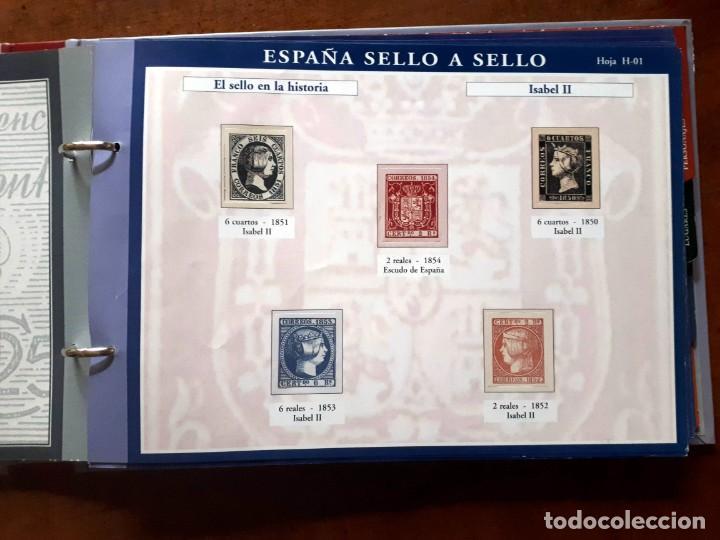 Sellos: España sello a sello- Colección completa limitada El País- Facsímil - Foto 6 - 133459450