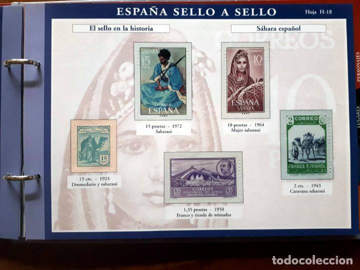 Sellos: España sello a sello- Colección completa limitada El País- Facsímil - Foto 8 - 133459450