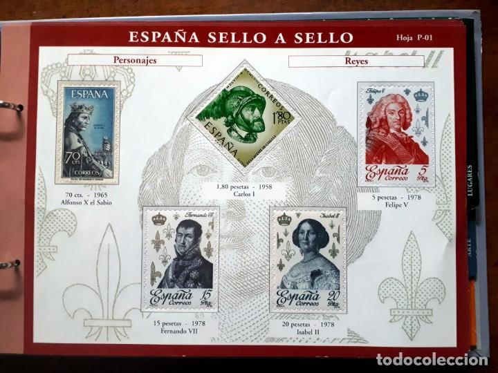 Sellos: España sello a sello- Colección completa limitada El País- Facsímil - Foto 11 - 133459450