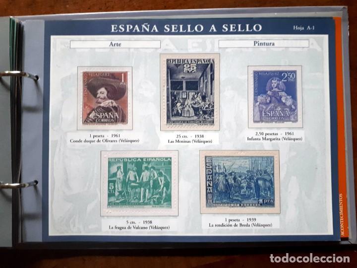 Sellos: España sello a sello- Colección completa limitada El País- Facsímil - Foto 16 - 133459450