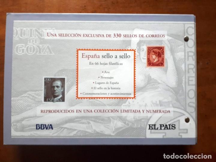 Sellos: España sello a sello- Colección completa limitada El País- Facsímil - Foto 20 - 133459450