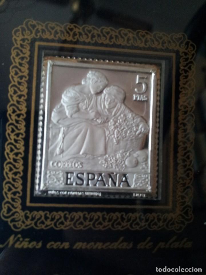 Sellos: SELLOS DE PLATA DE CUADROS DE MURILLO 1960 - ACUÑACIONES IBERICAS BARCELONA - Foto 6 - 143632394