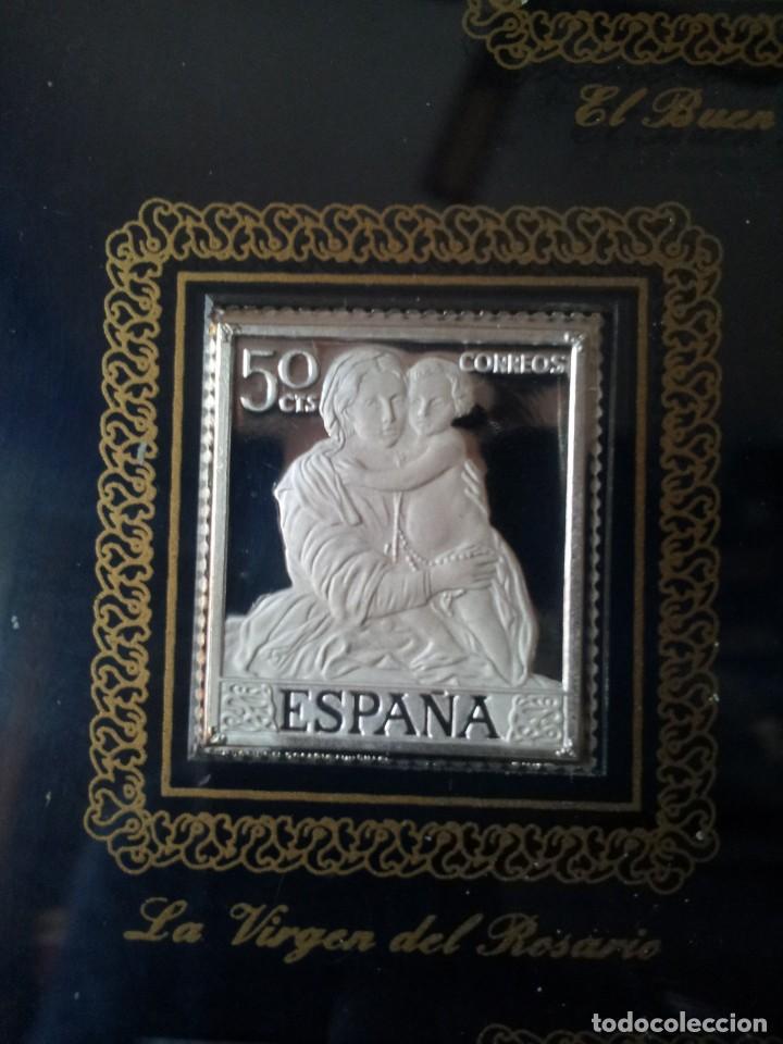 Sellos: SELLOS DE PLATA DE CUADROS DE MURILLO 1960 - ACUÑACIONES IBERICAS BARCELONA - Foto 7 - 143632394