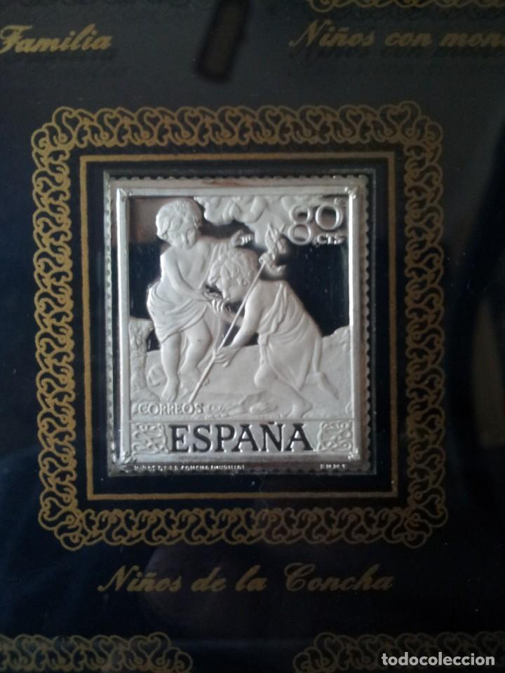 Sellos: SELLOS DE PLATA DE CUADROS DE MURILLO 1960 - ACUÑACIONES IBERICAS BARCELONA - Foto 9 - 143632394