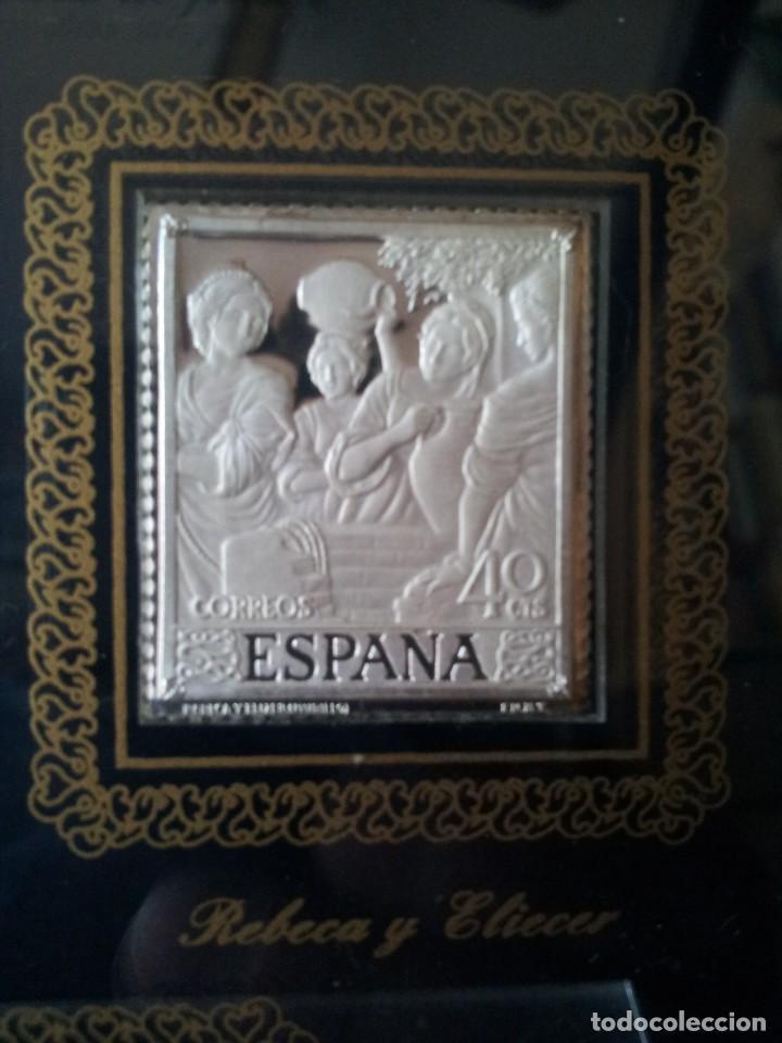 Sellos: SELLOS DE PLATA DE CUADROS DE MURILLO 1960 - ACUÑACIONES IBERICAS BARCELONA - Foto 10 - 143632394