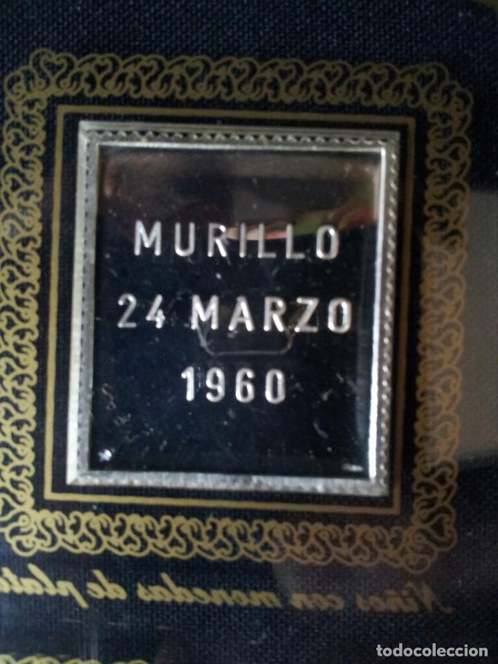 Sellos: SELLOS DE PLATA DE CUADROS DE MURILLO 1960 - ACUÑACIONES IBERICAS BARCELONA - Foto 14 - 143632394