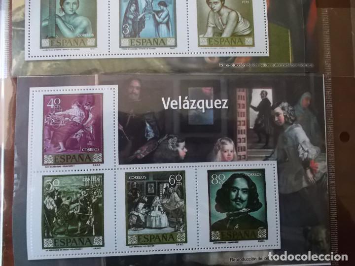 Sellos: coleccion de sellos facsimil pintores contemporaneos españoles - Foto 5 - 146071410