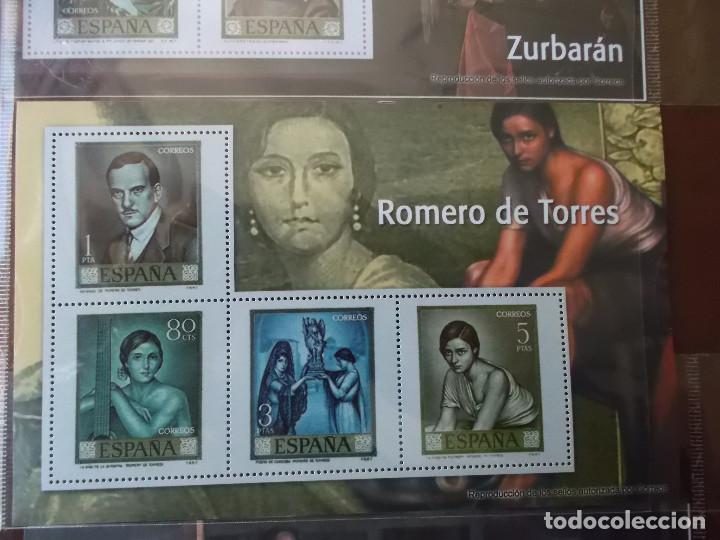 Sellos: coleccion de sellos facsimil pintores contemporaneos españoles - Foto 6 - 146071410
