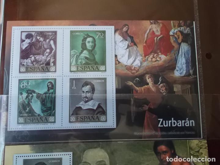 Sellos: coleccion de sellos facsimil pintores contemporaneos españoles - Foto 7 - 146071410