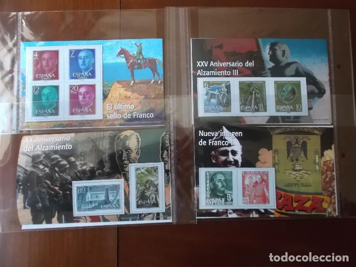Sellos: coleccion de sellos Franco reproduccciones legales facsimil - Foto 2 - 146072098