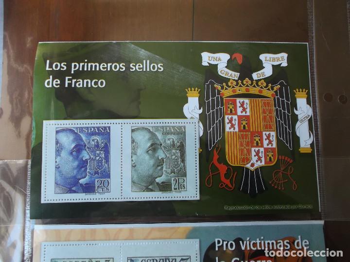 Sellos: coleccion de sellos Franco reproduccciones legales facsimil - Foto 3 - 146072098