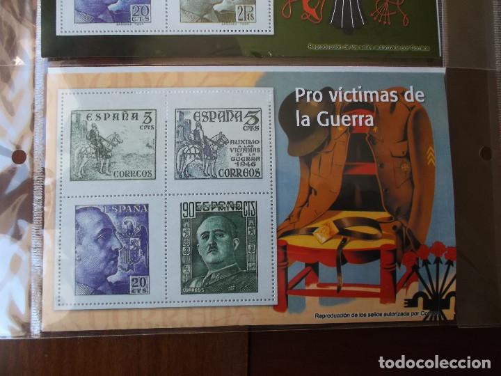 Sellos: coleccion de sellos Franco reproduccciones legales facsimil - Foto 4 - 146072098