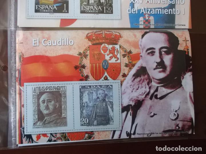 Sellos: coleccion de sellos Franco reproduccciones legales facsimil - Foto 6 - 146072098