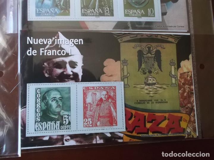 Sellos: coleccion de sellos Franco reproduccciones legales facsimil - Foto 8 - 146072098