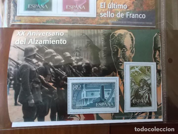 Sellos: coleccion de sellos Franco reproduccciones legales facsimil - Foto 9 - 146072098
