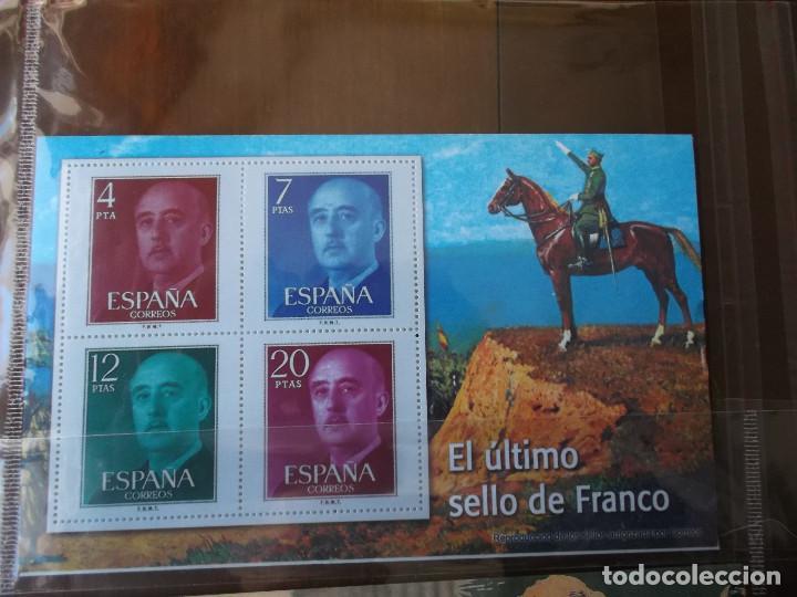 Sellos: coleccion de sellos Franco reproduccciones legales facsimil - Foto 10 - 146072098