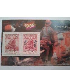 Sellos: SELLOS CRUZ ROJA 1938 REPÚBLICA ESPAÑOLA. Lote 146294154
