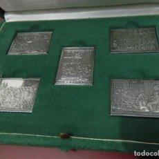 Sellos: REPRODUCCION SELLOS EN PLATA VELAZQUEZ 1939 - CON SU ESTUCHE, COLECCIONES HISPANICAS. Lote 148207766