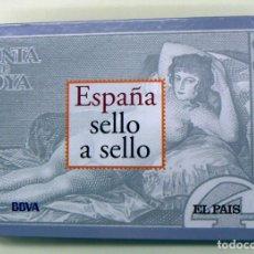 Sellos: COLECCIÓN ESPAÑA SELLO A SELLO- EL PAÍS- FACSÍMIL. Lote 149866926