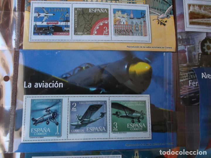 Sellos: conjunto de sellos legales facsimil temas de epoca - Foto 8 - 151201338