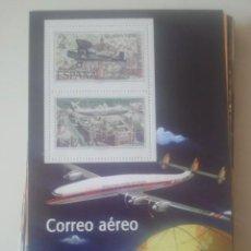 Briefmarken - COLECCIÓN - EL FRANQUISMO EN SELLOS Y BILLETES - EL MUNDO - ENTREGA - CORREO AÉREO - 154792518