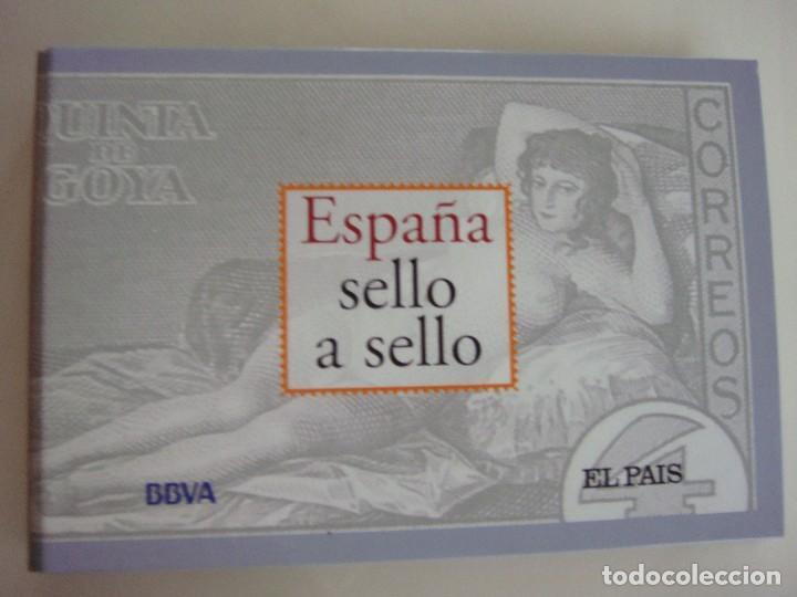 ESPAÑA SELLO A SELLO, SELECCIÓN EXCLUSIVA DE 330 SELLOS DE CORREOS, COMPLETO (Filatelia - Sellos - Reproducciones)
