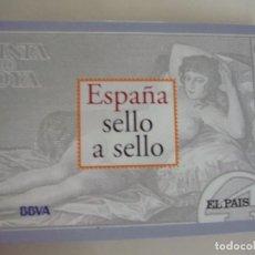 Sellos: ESPAÑA SELLO A SELLO, SELECCIÓN EXCLUSIVA DE 330 SELLOS DE CORREOS, COMPLETO. Lote 157032626